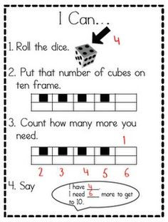 Could be used in a pair share or as a center.  Fun idea for the students who struggle with this concept.  Originally from littlestscholars.blogspot.  Lots of great ideas on her blog.