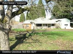 """SOLD December 9th for $60,000 -- PENDING SALE November 30th-- 680 E. Ellendale, Dallas ~ Fixer opportunity on 0.27 Acre Lot. 3 BR with 1,136 SF, circular drive and nice pole barn/garage. Sold """"as-is"""". Considering buying or selling?  Contact me for real estate. Thanks, Donna 503-931-5677"""