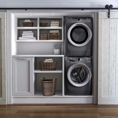 I like the idea of a built in laundry basket drawer.