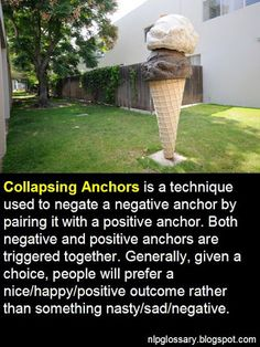 NLP GLOSSARY: Collapsing Anchors