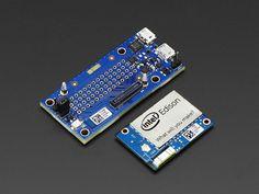 Intel® Edison w/ Mini Breakout Board Intel Edison, Circuit Training, Diy Electronics, Electrical Engineering, Cool Gadgets, Arduino, Computers, Boards, Tech