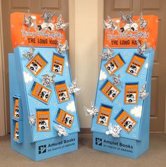 City Diecutting, Inc. / Bookdisplays.com is pleased to present our most recent point of purchase display, Diary of A Wimpy Kid Book 9, The Long Haul.  This dimensional display ships to retail holding either 36 copies or 50 copies.  The dimensional birds provide dramatic impact and interest. The birds fold flat over the books for shipping, allowing easy assembly.  Our displays are proudly made in the USA using American made board. Celebrating 25 years of providing quality displays to publishe...