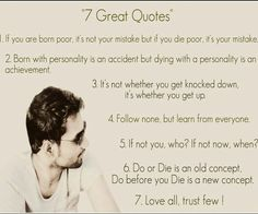 7 greate quotes..
