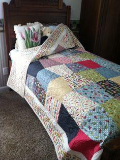Laundry quilt