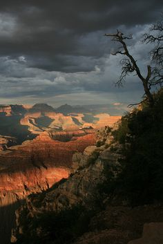 Hazy Sunset, Grand Canyon National Park