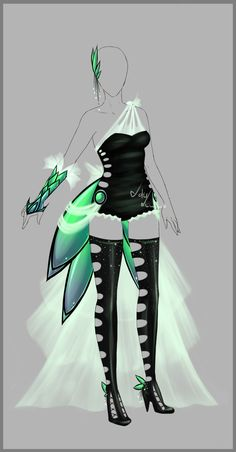 Outfit design - 82 - closed by LotusLumino on deviantART