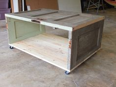 how to build a coffee table - Google-søk