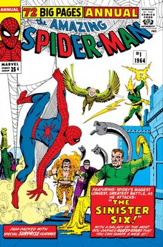 Cover to Amazing Spider-Man Annual #1