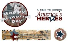 Memorial Day Freebies from Creative Memories - Click to Download!