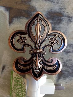 Fleurty Girl - Everything New Orleans - Fleur de Lis Nightlight - Home Accessories - For the Home