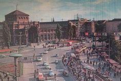 Hauptbahnhof in #Nürnberg 1960