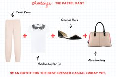 Fashion Math: The Ladylike Edition - The Pastel Pant