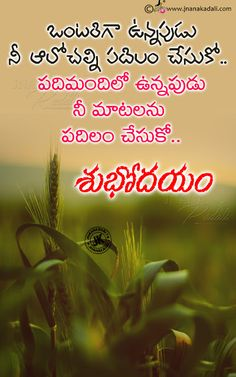 Motivational Life changing good morning messages quotes in telugu with hd wallpapers Love Breakup Quotes, Hd Quotes, Inspirational Quotes Pictures, Gud Morning Wishes, Good Morning Messages, Good Morning Greetings, Morning Thoughts, Good Thoughts, Good Night Quotes