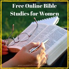 Dozens of free online Bible studies for women to help you grow closer to Him and His Word. Whether you are a new believer or seeking to know Him more, you will find a study that will help you in your walk.
