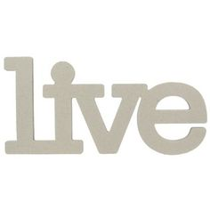the Paper Studio Live Chipboard Word   Shop Hobby Lobby