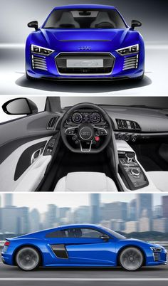 The new Audi R8 e-tron is the self-driving electric supercar of your dreams.