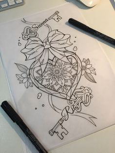 Thigh piece design done for our client - diy tattoo images Dope Tattoos, Girly Tattoos, Henna Tattoos, Henna Tattoo Designs, Unique Tattoos, Leg Tattoos, Body Art Tattoos, Tattoo Drawings, Sleeve Tattoos