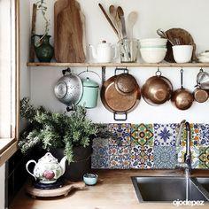 Home 059 | Azulejos combinados — ojodepez | vinilos decorativos