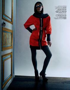 visual optimism; fashion editorials, shows, campaigns & more!: drake burnette by richard bush for vogue russia november 2013 #belolanow