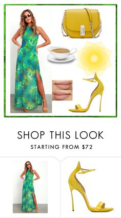 """set102"" by nudzi-ded ❤ liked on Polyvore featuring LULUS and Casadei"
