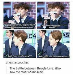 The beagle line has no chill