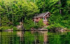 Cottages on the lake...