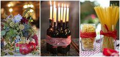 Centros de mesa boda italiana