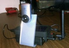 Raspberry Pi: Completely Wireless IP Camera. Solar Battery Pack, WiFi, Logitech Camera, Raspbian