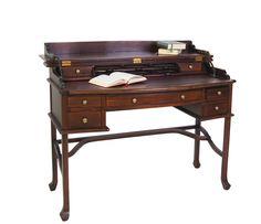Kolonial-Design,Sekretär, Mahagoni, Schreibtisch, Campaign Desk, Campaign Desk, Campaign Furniture, Office Desk, Burgundy, Workshop, Design, Home Decor, Accessories, Submission