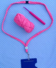Crochet a Lanyard With Tea With Miss Beatrix