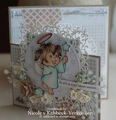 Nicole's stamp addiction Magnolia, Addiction, Stamp, Van, Christmas, Handmade Cards, Decor, Flowers, Paper