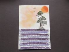 Sconebeker Stempelscheune - Stampin up Sets : Serene Silhouettes, Works of Art