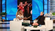 Laverne Cox Dishes on Having Beyonce and Kim Kardashian West as Bosses Ivy Park Clothing, Laverne Cox, The Ellen Show, Black Actresses, Orange Is The New Black, Beyonce, Kim Kardashian, Boss, Dishes