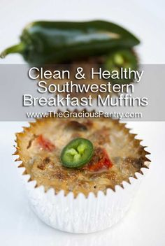 Clean Eating Southwest Breakfast Muffins  •••••••••••••••••••••••••••••••••••••••••••••  Ingredients  3/4 lb. lean ground turkey meat  1 tbsp. chili powder  1 tbsp. cumin  1 tbsp. garlic powder  1 medium red onion, chopped  2 medium red bell peppers, chopped  1 tbsp. olive oil  12 egg whites  •••••••••••••••••••••••••••••••••••••••••••••    Haven't tried them yet, but they are on the list - Eggy
