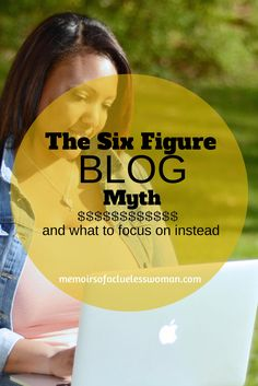 The Six Figure Blog Myth {and what to focus on instead} http://ckclark.us/1oiACS3 #blog #blogger #blogging
