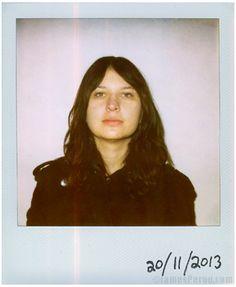 Stella Mozgawa, Warpaint. Polaroids by James Perou 20/11/13 (Folk That Make Music)   (Source: jamesperou.com via http://warpaintwarpaint.tumblr.com)