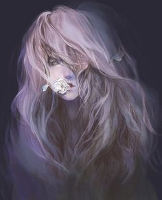 violet by tuyetdinhsinhvat.deviantart.com #digital #illustration