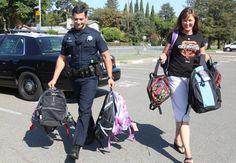 #Backpacks #DavisPD #DavisCA #BirchLane http://www.davisenterprise.com/local-news/all-set-for-school/
