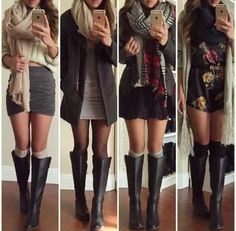 Find images and videos about fashion, outfit and clothes on We Heart It - the app to get lost in what you love. Fall Winter Outfits, Autumn Winter Fashion, Summer Outfits, Casual Outfits, Cute Outfits, Winter Wear, Look Fashion, Teen Fashion, Fashion Outfits