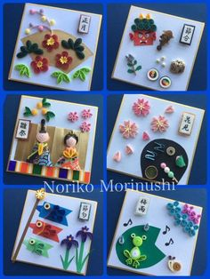 Quilling Dolls, Quilling Paper Craft, Paper Crafts Origami, Quilling 3d, Quilling Designs, Origami Art, Diy And Crafts, Crafts For Kids, Paper Quilling Cards