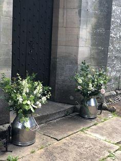 Askham Church Milk Churn, Flowers, Plants, Plant, Royal Icing Flowers, Flower, Florals, Floral, Planets