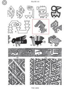 Peruvian Inca art - Inspiration for Condor bird design Viking Symbols, Egyptian Symbols, Viking Runes, Ancient Symbols, Mayan Symbols, Inca Art, Colombian Art, Peruvian Art, American Indian Tattoos