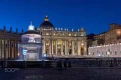 Rome Saint Peter's basilica - Press F11 and M to su on Full Screen