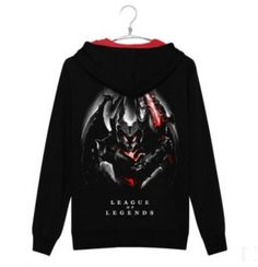 Aatrox League of Legends hoodies plus size cool sweatshirts