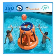 Inflatable Shoot Ball Swimming Pool Floating Toy Game Basketball Shootball Party