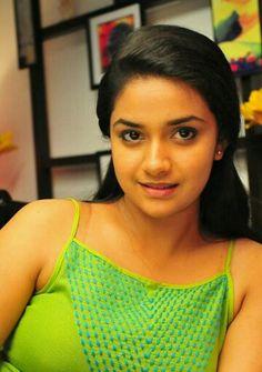 Keerthi Suresh Actress New Cute Beautiful Hot Unseen