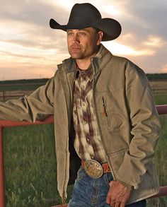 STS Ranchwear Men's Bridger Canvas Sherpa-Lined Jacket clothes for cowboys gifts for cowboys gifts for ranchers #ranchlife rugged tough durable handsome cowboy style YKK zippers #fall2015 warm comfortable winter fall outerwear