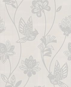 Albany fashion fd30982 albany wallpapers a pretty stylised 20 287 contour elegance whitesilver floral wallpaper graham brown mightylinksfo