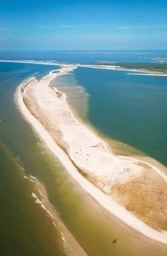 Dauphin Island. #Gulf #beach
