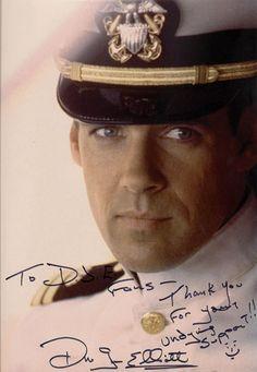 David James Elliott as Harmon Rabb from hit tv show 'JAG.' - This was the precursor to NCIS. David James Elliott, 80 Tv Shows, Look At My, James Norton, Catherine Bell, American Series, Men In Uniform, Raining Men, Por Tv